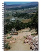 On The Road To Virginia City Nevada 15 Spiral Notebook