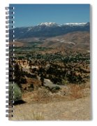 On The Road To Virginia City Nevada 20 Spiral Notebook