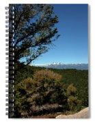 On The Road To Virginia City Nevada 4 Spiral Notebook