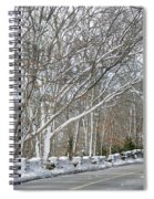 On The Road To Woods Hole Spiral Notebook