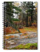 Picnic On The Rocks Spiral Notebook