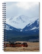On The Rocky Mountain Front Spiral Notebook