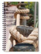 On The Ropes Spiral Notebook