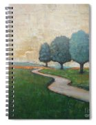 On The Rural Road Spiral Notebook