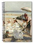 On The Shores Of Bognor Regis Spiral Notebook