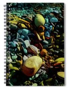On The Shores Of My Imagination Spiral Notebook