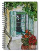On The Street Where You Live Spiral Notebook