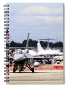 On The Taxiway Spiral Notebook