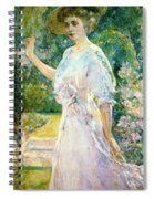 On The Terrace Spiral Notebook
