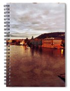 On The Vltava River Spiral Notebook