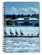 On The Water Spiral Notebook