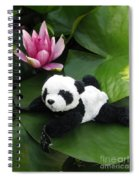 On The Waterlily Spiral Notebook