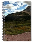 On The Way To Iceberg - Panorama Spiral Notebook