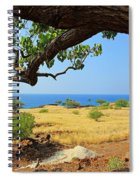 On The Way To Lapakahi Spiral Notebook