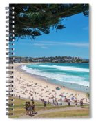 On The Way To The Beach. Spiral Notebook