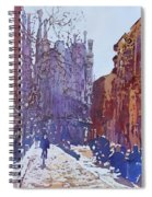 On The Way To The Sagrada Familia Spiral Notebook