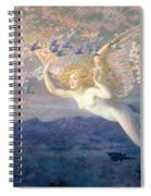 On The Wings Of The Morning Spiral Notebook
