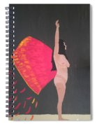 On Wings Of Creation Spiral Notebook
