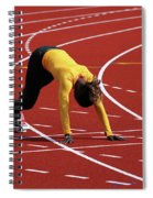 Track And Field 1 Spiral Notebook