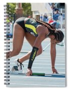 On Your Mark  Spiral Notebook