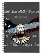 Once A Marine Spiral Notebook