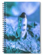 Once On A Blue Moon Spiral Notebook