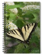 Once There Was A Butterfly Spiral Notebook