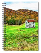 Once Upon A Mountainside 2 - Paint Spiral Notebook