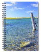 Once Upon A Pier Spiral Notebook