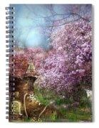 Once Upon A Springtime Spiral Notebook