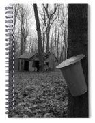 Once Upon A Time At The Sugar Shack Spiral Notebook