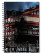 Once Upon A Time In The Sleepy Town Of Crockett California . 5d16760 Spiral Notebook