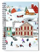 Once Upon A Winter Spiral Notebook
