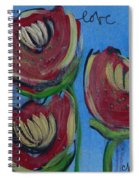 Once Upon A Yoga Mat Poppies 2 Spiral Notebook