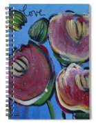 Once Upon A Yoga Mat Poppies 3 Spiral Notebook