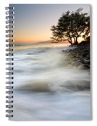 One Against The Tides Spiral Notebook