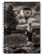 One Boys Dream Spiral Notebook