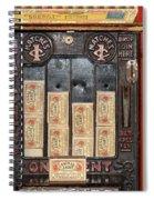 One Cent Matches Spiral Notebook