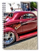 One Cool Car Spiral Notebook