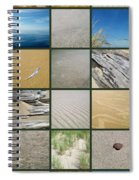 One Day At The Beach Ll Spiral Notebook