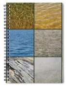 One Day At The Beach  Spiral Notebook