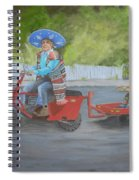 One Harry Ride Spiral Notebook