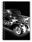One Hot 1936 Chevrolet Coupe Spiral Notebook