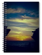 One Last Glimpse Spiral Notebook