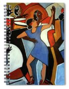 One Last Tango Spiral Notebook