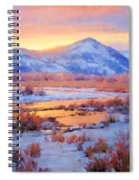 One Last Winters Eve Spiral Notebook