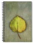 One Leaf Beauty Spiral Notebook