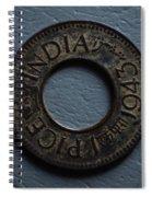 One Pice British India Spiral Notebook