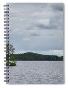 One Pine Island. Koirajarvi Spiral Notebook
