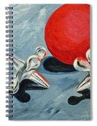 One Red Ball Spiral Notebook